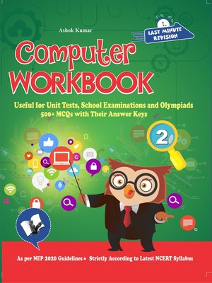 cover image of Computer Workbook Class 2