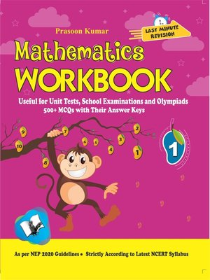 cover image of Mathematics Workbook Class 1