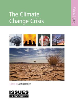 cover image of The Climate Change Crisis