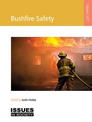 cover image of Bushfire Safety