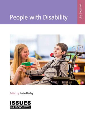 cover image of People with Disability