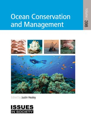 cover image of Ocean Conservation and Management