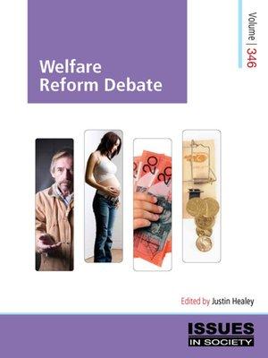 cover image of Welfare Reform Debate