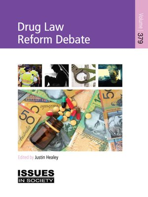 cover image of Drug Law Reform Debate