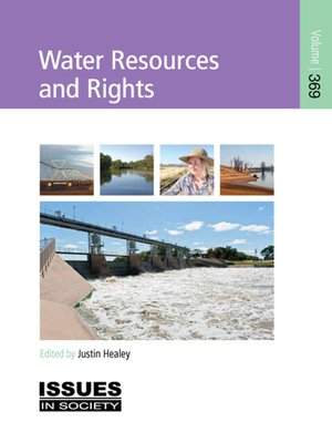 cover image of Water Resources and Rights