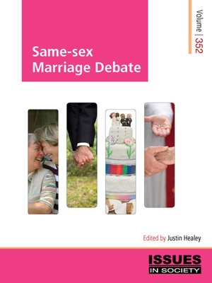 cover image of Same-sex Marriage Debate