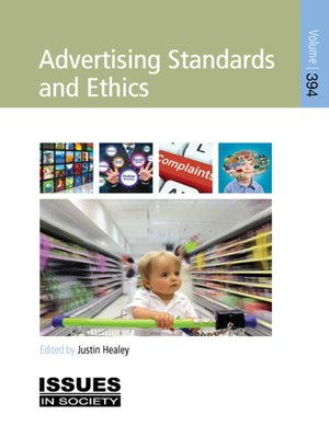 cover image of Advertising Standards and Ethics