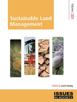 cover image of Sustainable Land Management