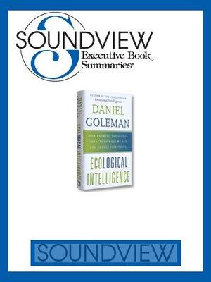 soundview executive book summaries reviews