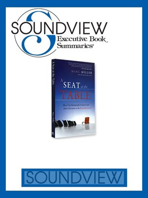 A seat at the table book