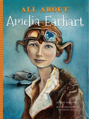 cover image of All About Amelia Earhart