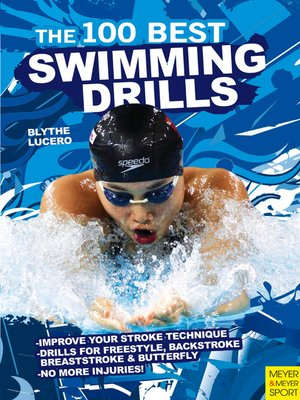 cover image of The 100 Best Swimming Drills