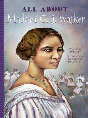 cover image of All About Madam C.J. Walker