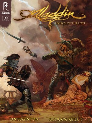 cover image of Aladdin: Legacy of the Lost, Issue 2