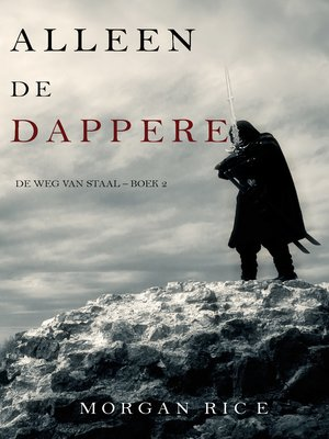 cover image of Alleen de dappere
