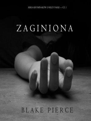 cover image of Zaginiona