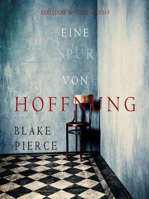 cover image of Eine Spur von Hoffnung