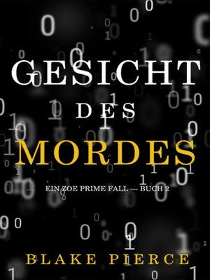 cover image of Gesicht des Mordes