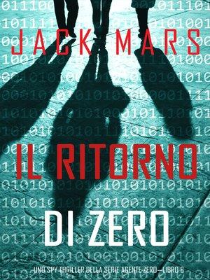 cover image of Il ritorno di Zero