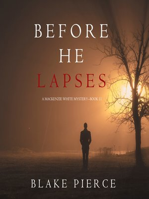 cover image of Before He Lapses