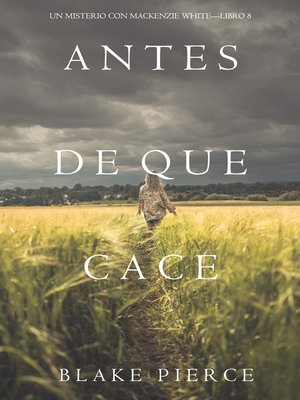 cover image of Antes De Que Cace