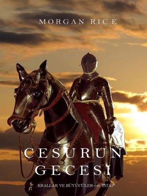 cover image of Cesurun Gecesi