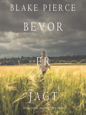 cover image of Bevor er Jagt