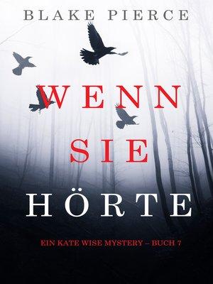 cover image of Wenn Sie Hörte