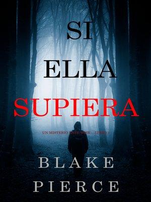 cover image of Si Ella Supiera