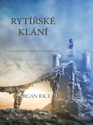 cover image of Rytířské Klání