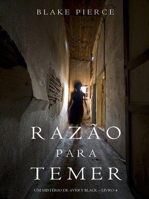 cover image of Razão Para Temer