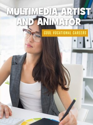 cover image of Multimedia Artist and Animator