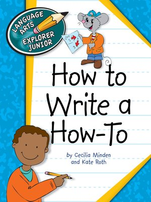 cover image of How to Write a How To