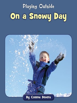cover image of On a Snowy Day