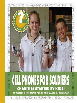 cover image of Cell Phones for Soldiers