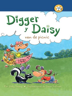 cover image of Digger y Daisy van de picnic (Digger and Daisy Go on a Picnic)