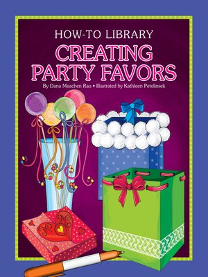 cover image of Creating Party Favors