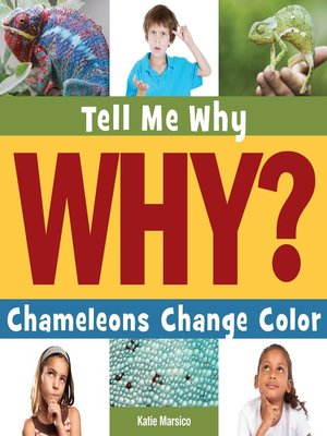 cover image of Chameleons Change Color