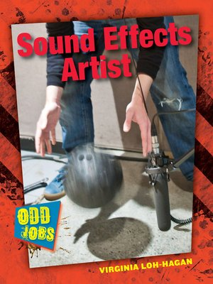 cover image of Sound Effects Artist