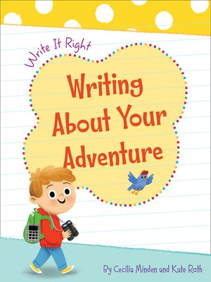 cover image of Writing About Your Adventure