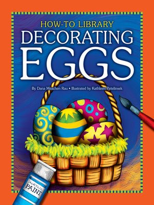 cover image of Decorating Eggs