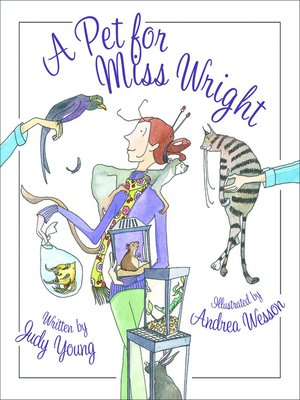 cover image of A Pet for Miss Wright