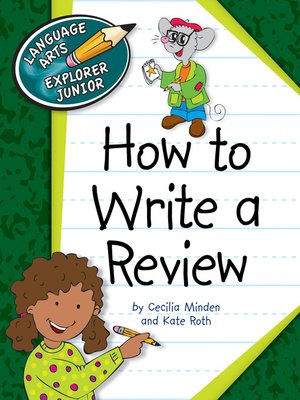 cover image of How to Write a Review