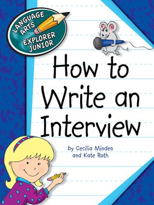 cover image of How to Write an Interview