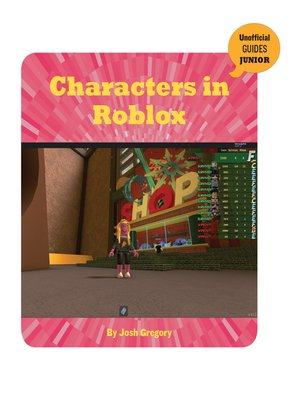 cover image of Characters in Roblox