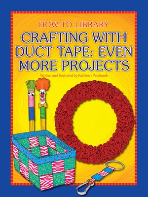 cover image of Crafting with Duct Tape