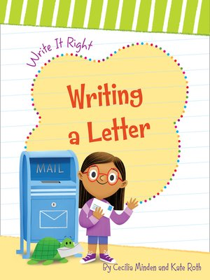 cover image of Writing a Letter