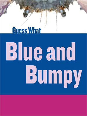 cover image of Blue and Bumpy