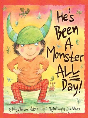 cover image of He's Been a Monster All Day