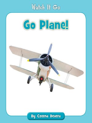 cover image of Go Plane!